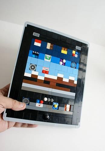 iPad из LEGO