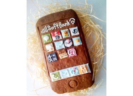 iPhone печенье
