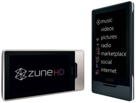 Microsoft Zune HD плеер, фото