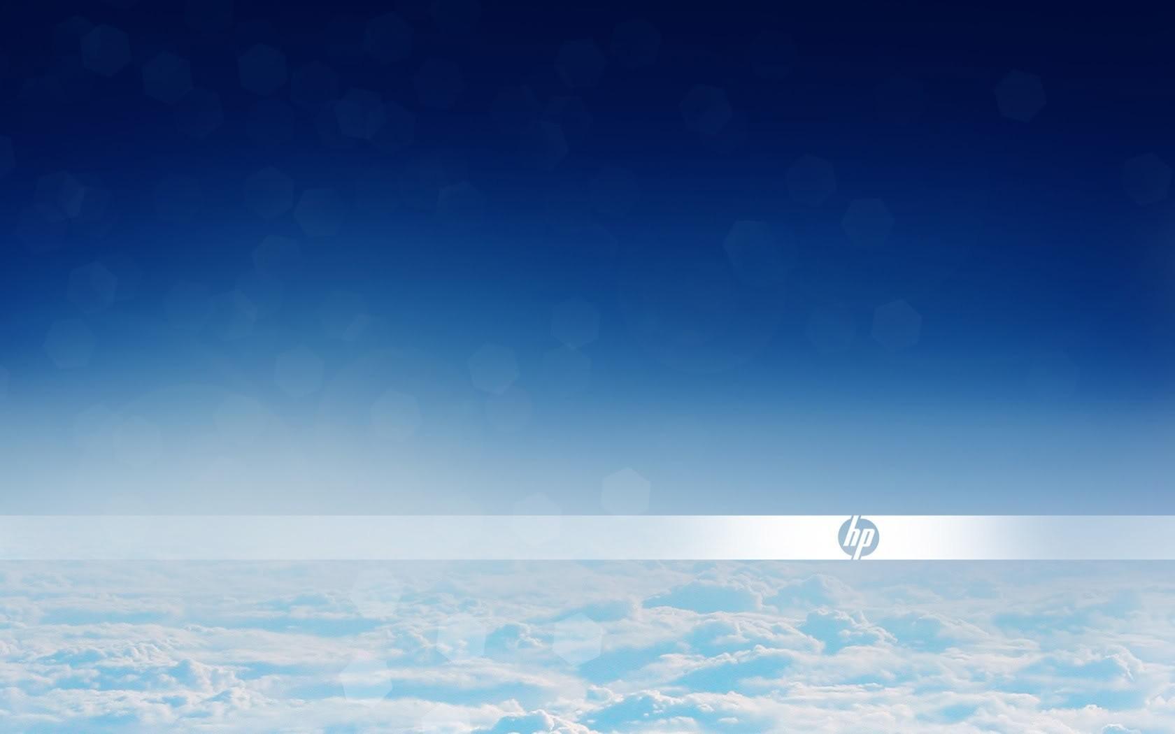 Облака HP 1680x1050 обои