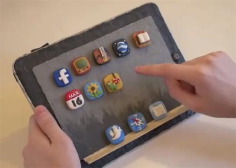 пластилиновый iPad