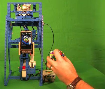 htc desire собрал кубик Рубика