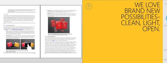 фото сенсорного интерфейса Windows 8