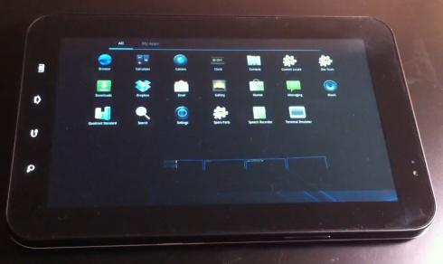 Google Android 3.0 Honeycomb на Samsung Galaxy Tab