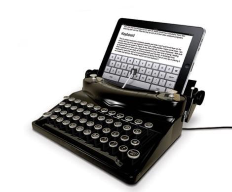 typescreen ipad печатная машинка