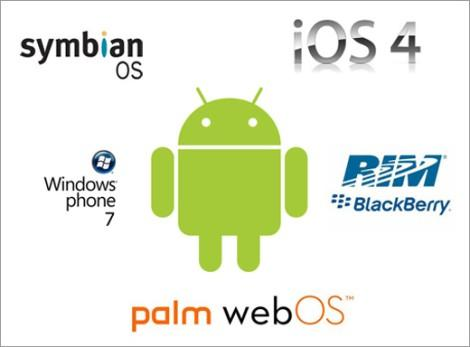 mobile phone os