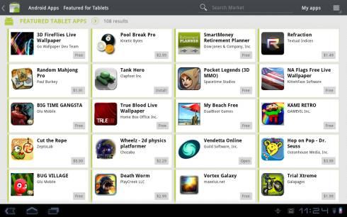 Приложения Samsung Galaxy Tab 10.1