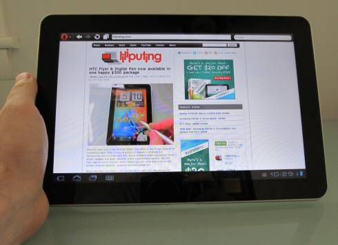 Samsung Galaxy Tab 10.1 обзор