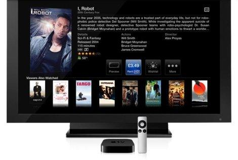 apple телевизор фото