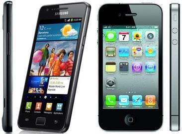 Galaxy S II и iPhone