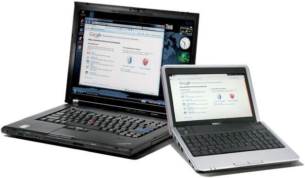 Нетбук по сравнению с ноутбуком