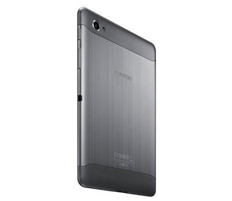 Samsung Galaxy Tab 7.7 сзади