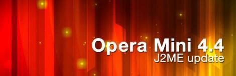 Opera mini 4.4