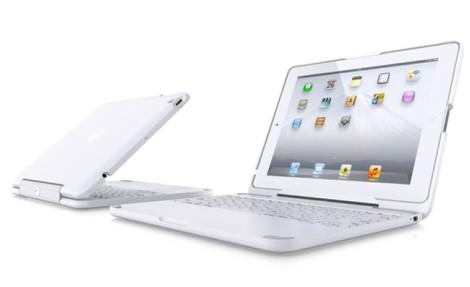 Clamcase White iPad 2