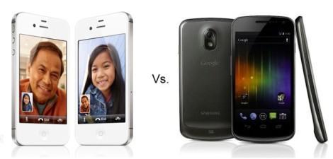 iPhone 4S vs Samsung Galaxy Nexus
