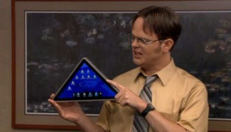 Треугольный планшет