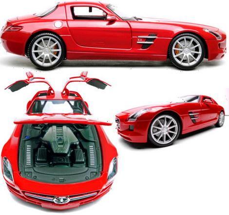 Flash Rods Mercedes SLS