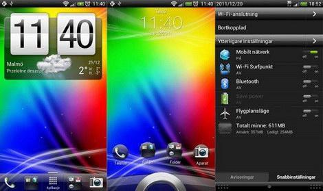 ICS HTC Sense