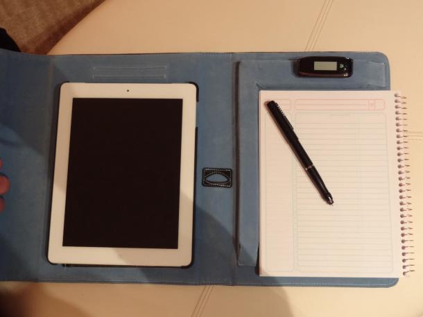Targus iNotebook iPad concept
