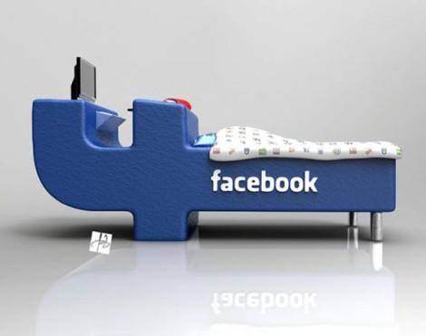 Кровать Facebook