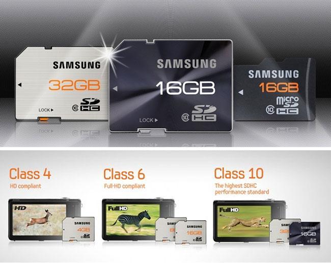 карты памяти SD и MicroSD
