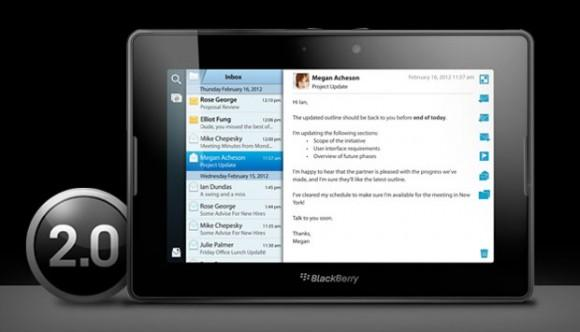 BlackBerry PlayBook OS 2.0