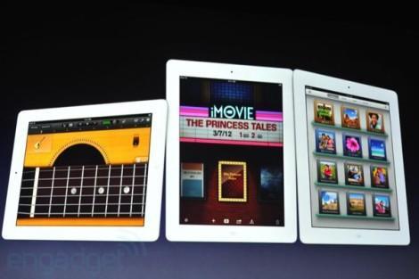Приложения нового iPad