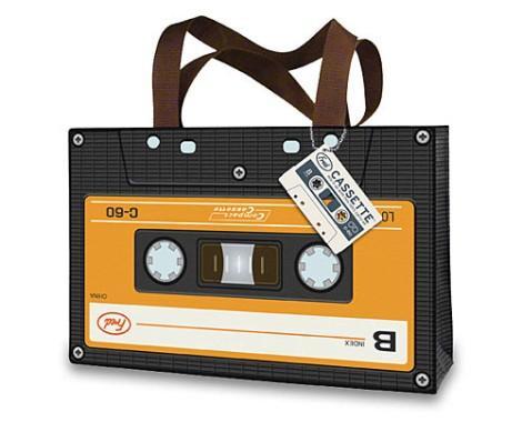 Сумка в виде кассеты