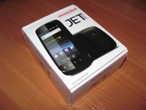 Коробка Highscreen Jet Duo