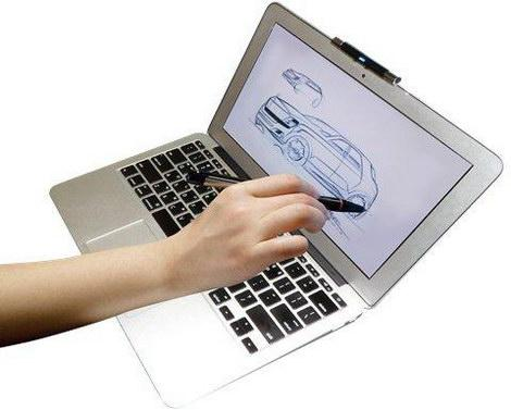 interactive laptop device