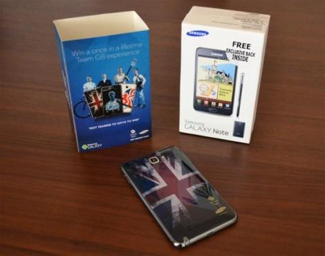 Samsung Galaxy Note Olympic