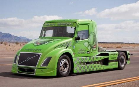 Volvo Mean Green