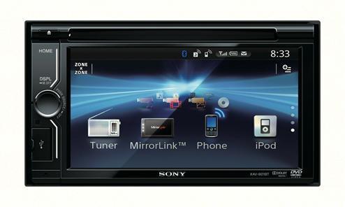 Sony XAV-601BT MirrorLink