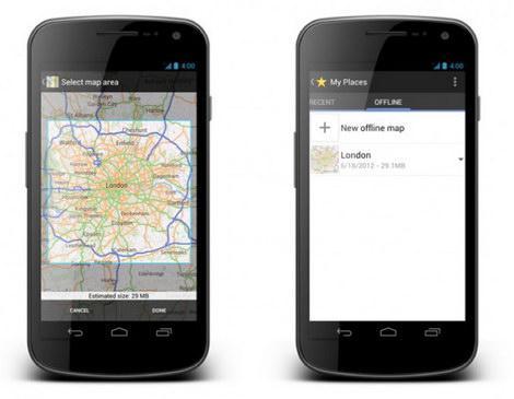 googlemaps-offline