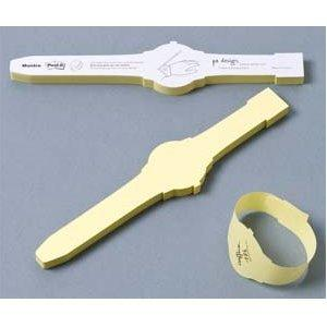 sticky-note-wristwatch