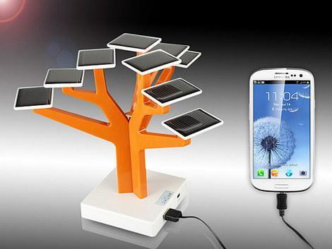 USB-Solar-Charger-Tree