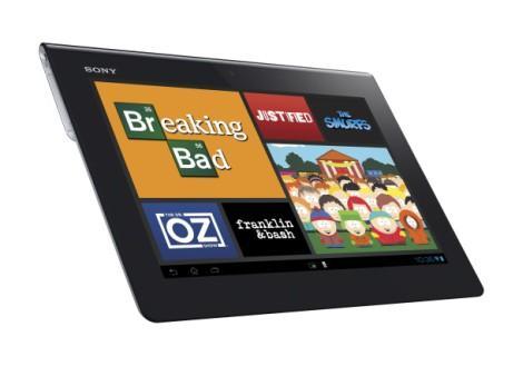 Фильмы на Sony Xperia Tablet S