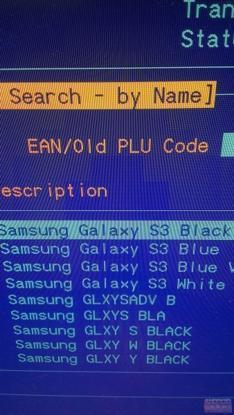 Black Samsung Galaxy S3