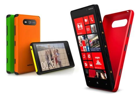 Lumia 820 Rugged Shell Case