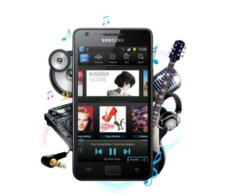Android Galaxy Music