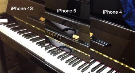 iPhone сравнение камер