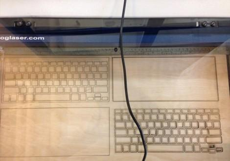 Эскиз клавиатуры