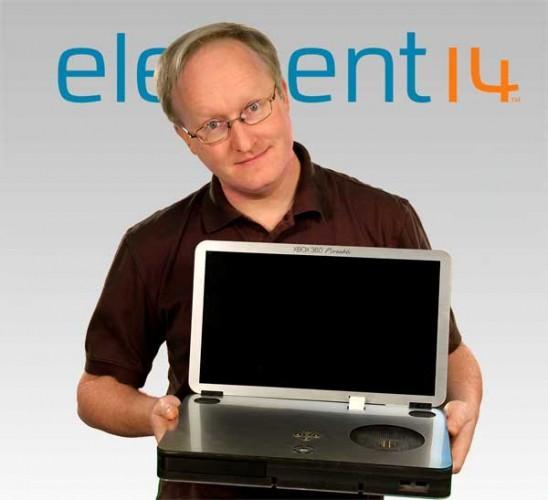 ultra-portable Xbox 360 laptop