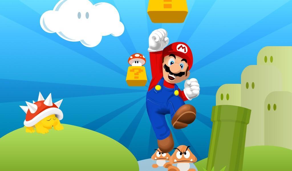 Марио обои