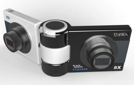 Черная и белая камера