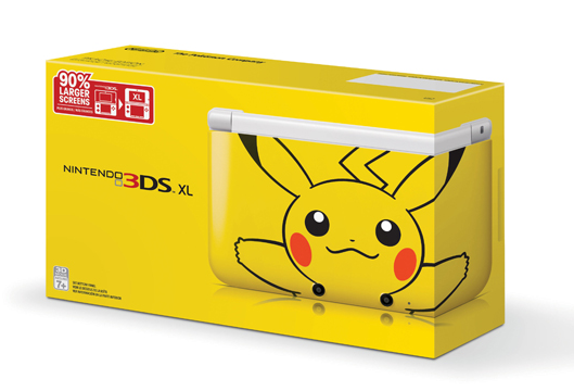 Nintendo 3DS XL Pikachu edition