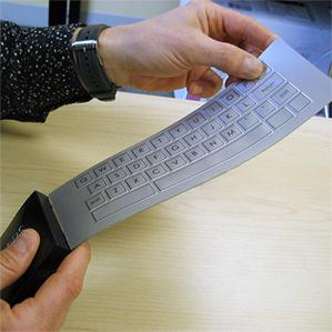 Flexible keyboard