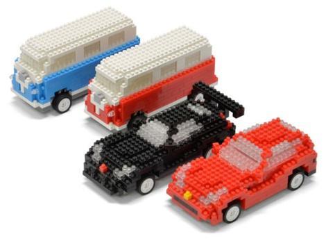как сделать мини машинки из лего инструкции - фото 2