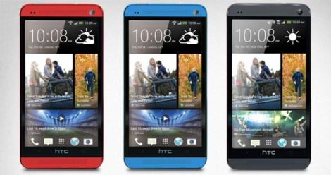 Red And Blue HTC One