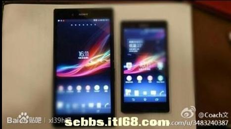 Sony Xperia Z Ultra и Sony Xperia Z